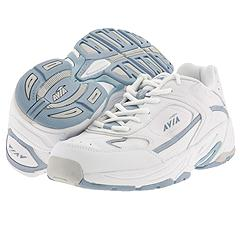 Avia - A145w (White/Rally Blue/Ice Grey) - Women's