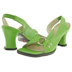 John Fluevog - Meghan (Emerald Green) - Women's