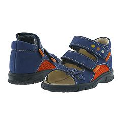 Primigi Kids - Garcia-E (Infant/Children) (Navy/Orange (Azzurro/Fiamma)) - Kids