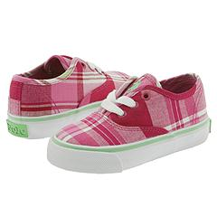 Polo Ralph Lauren Kids - Key West Low (Infant/Children) (Fuchsia Madras Canvas) - Kids