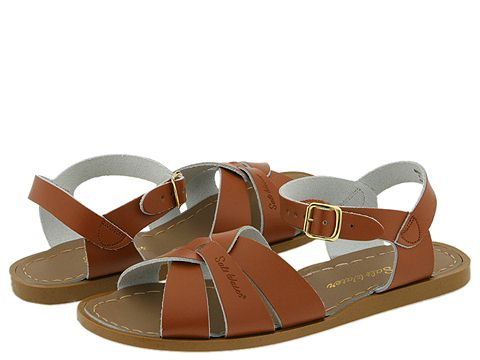 Salt Water Sandal by Hoy Shoes The Original Sandal (Big Kid/Adult) - Tan