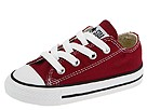 Converse Kids - Chuck Taylor All Star Ox (Infant/Toddler) (Maroon) - Footwear