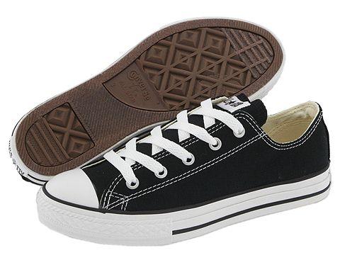 Converse Kids Chuck Taylor® All Star® Core Ox (Little Kid) - Black