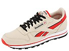Reebok Lifestyle - Classic Leather (Stucco/China Red/Black/White) - Footwear