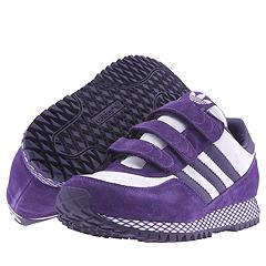 adidas Originals Dallas VLC (Suede) W (White/Violet/Violet) - Women's Sale Items :  suede adidas purple violet