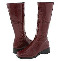 La Canadienne - Blanche (Cherry Crinkle Patent) Women's Zip Boots