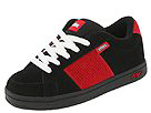 etnies Kids - Kids Kingpin (Toddler/Youth) (Black/Red Suede)