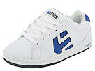 etnies Kids - Kids Cinch (Toddler/Youth) (White/Blue/Black)