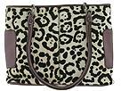 Plinio Visona Handbags - Haircalf Hobo w/ Metallic Trim (Leopard White) - Accessories