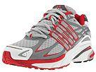 adidas Running - Adistar* Cushion W (Lt.Silver Met./Shock Red/Dk.Silver Met./Graphite) - Women's