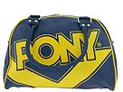 Buy PONY Bags - Small Billbaord Bag (Navy/Gold) - Accessories, PONY Bags online.