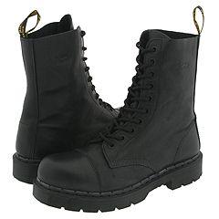 Dr. Martens - 8267 (Black Nappa) Boots