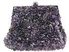 Inge Christopher Handbags - Semi Precious Stone Chips Frame (Amethyst) - Accessories