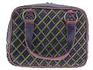 Inge Sport Handbags - Woven Snake Satchel (Purple Multi) - Accessories