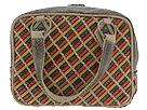 Inge Sport Handbags - Woven Snake Satchel (Brown Multi) - Accessories
