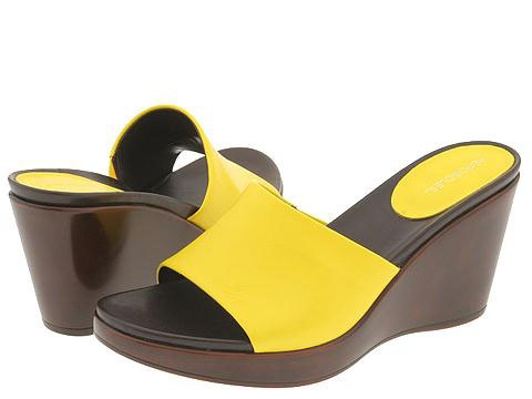 Aerosoles Plank Stare :  rubber designer platforms yellow