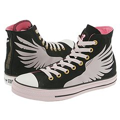 Converse Chuck Taylor® All Star® Product Democracy (Black/Lavendar/Wings) - Converse® Women's Footwear :  kicks black and white shoe wear