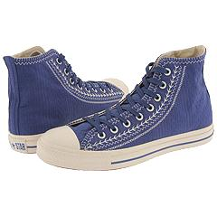 Converse Chuck Taylor® All Star® Multicultural HI (Blueberry/Parchment) - Converse Footwear from zappos.com