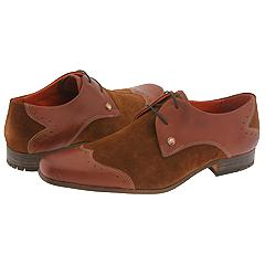 Ben Sherman Sol (Cognac) - Wingtips Lace-Up/Oxford
