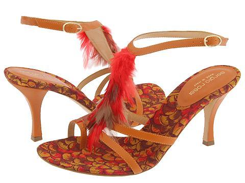 Sergio Rossi AP3460 Ambra/Flamboyan - Footwear