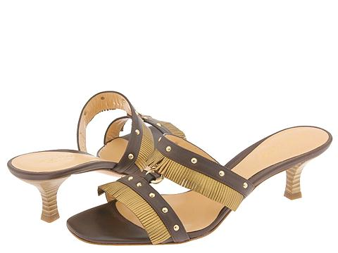 Sergio Rossi Fringer Marrone/Bronzo - Footwear