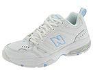 New Balance - WX621 (White/Carolina) - Footwear