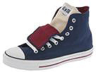 Converse - Chuck Taylor All Star Double Tongue Hi (Navy/Cranberry)