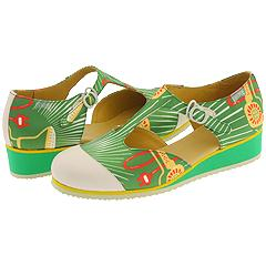Camper Camping-20086 (Green Fabric) - Camper Women's Entire Collection