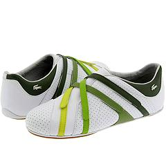 Lacoste Intrigue (White/Ivy Rainbow) - Lacoste Women's :  tennis shoe lacoste