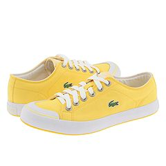 Lacoste L33 Canvas (Dandelion/White) - Women's Casual