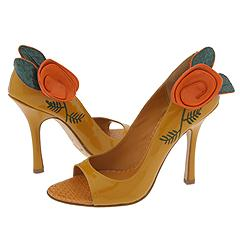 Joey O Hope (Yellow Patent) - High Heel Dress Shoes :  high heel patent shoes