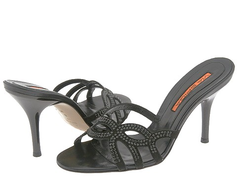 Via Spiga - Spur (Black Suede) - Footwear