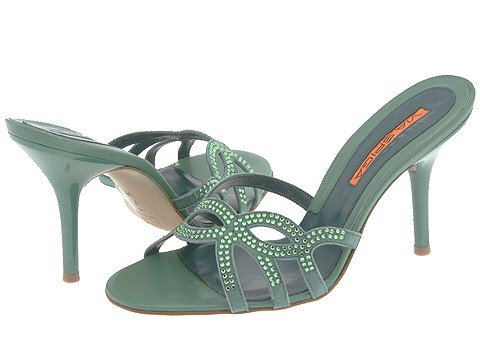 Via Spiga - Spur (Sage Suede) - Footwear