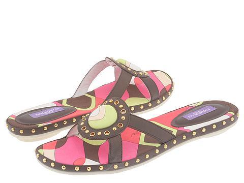 Emilio Pucci - 763150 (Dk Brown Vacchetta) - Footwear