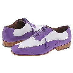 Giorgio Brutini 15789 (Montana Buff Calf Lavender/White) - Two Tone Casual Oxford