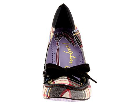 Irregular Choice City Picnic 3043-5 G :  stylish plaid trendy heels