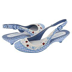 Irregular Choice Lady Bug 3076-2 C (Blue And White Gingham) - Women's :  blue kitten heels shoe shoes