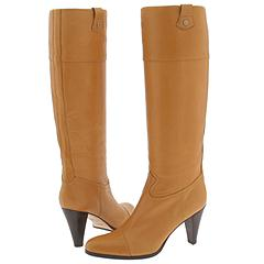 HUGO Hugo Boss Nives (Cognac) - Knee-High Dress Boots