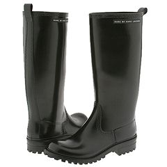 Marc by Marc Jacobs 664261 (Black Rubber) - Rain Casual Boots