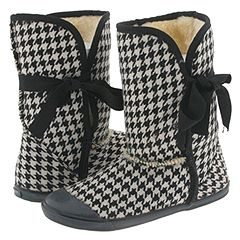 Sugar Origami (Black/White) - Boots :  morigami sugar indoors lounging