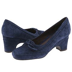 Aerosoles Mindy (Dark Blue Suede) - Women's Casual :  blue suede zappos women