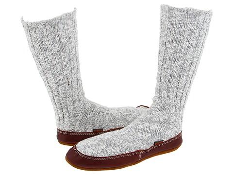 Acorn Slipper Sock Cotton