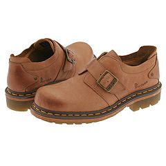 Dr. Martens - Slate Monk Shoes (Peanut Burnished Mirage)