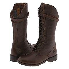 Dr. Martens Reboot 13 Eye Zip Boot (Dark Brown Buffalino) - Dr. Martens Women's Boots from zappos.com