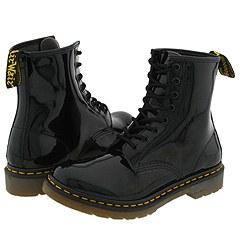Dr. Martens - 1460 W (Black Patent) Boots