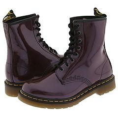 Dr. Martens - 1460 W (Purple Laccato) Boots
