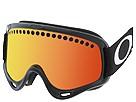 Oakley - O Frame (Jet Black/Fire) - Eyewear