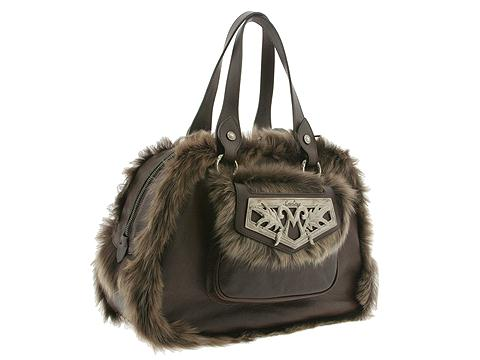 Moschino Scozia Borsa Tracolla Shoulder Bag Dark Brown - Bags and Luggage