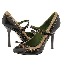 DSQUARED2 Q6509 (Brown) - High Heel Dress Shoes