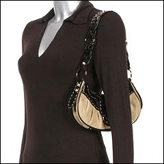 Guess Collection Colette Suede Top Zip  :  handbag contest1